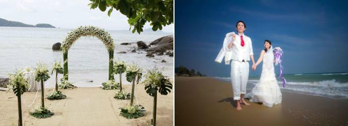 Hochzeit in Ko Phangan